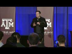 Elon Musk speaks at the Hyperloop Pod Award Ceremony (2016.1.30)