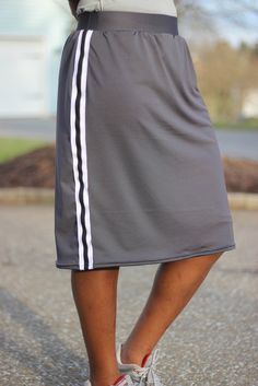 Modest Knee Length Athletic Skort