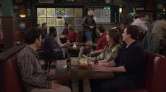 """Conan O'Brien was once an extra at MacLaren's Pub and didn't have a single line. 21 Tiny Little Things You Never Noticed In """"How I Met Your Mother"""" How I Met Your Mother, I Meet You, Did You Know, Ted And Robin, Conan O Brien, Himym, You Never, Little Things, Tv"""
