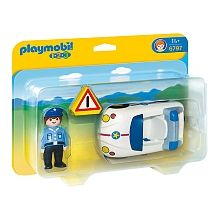 PLAYMOBIL Police Car 6797 Made for toddlers and pre-schoolers. Great first car. Toys R Us, Kids Toys, Building Sets For Kids, Building Toys, Toys For 1 Year Old, Green Toys, Trailer Hitch, Kits For Kids, First Car