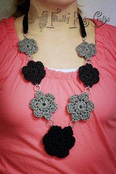 crochet jewelry free patterns - Google Search