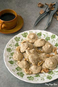 Biscuits aux noix - Chez Papa Rico - Recettes & Bonne humeur