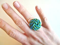 Sailor Knot Ring Custom Made Wire Ring by RefreshingDesigns, $8.00