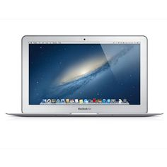 """APPLE 11.6"""" MacBook Air MD224B/A Laptop ($2,055) ❤ liked on Polyvore"""