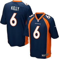 31d33bb83 Men s Nike Denver Broncos  6 Chad Kelly Game Navy Blue Alternate NFL Jersey  Britton Colquitt. Britton ColquittBroncos ShirtsSuper BowlDenver ...