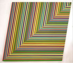The Optical Edge, Pratt Manhattan Gallery, New York, NY Modern Artists, Great Artists, Art Optical, Optical Illusions, Joseph Albers, Bridget Riley, Concrete Art, Kinetic Art, Geometric Art