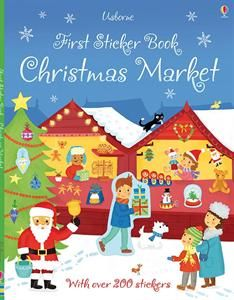 Show details for First Sticker Book Christmas Market