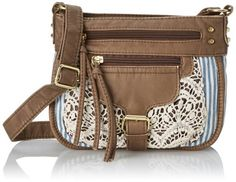 Crochet Front Cross Body Bag - For Sale Check more at http://shipperscentral.com/wp/product/crochet-front-cross-body-bag-for-sale/