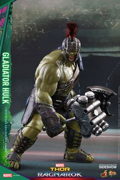 Marvel Gladiator Hulk Sixth Scale Figure by Hot Toys   Sideshow Collectibles