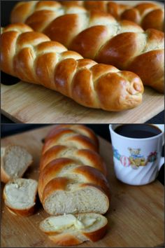 Zopf is a type of Swiss bread made from flour, milk, yeast and egg. Zopf means braid or plait. This bread can be served for lunch / breakfast / dinner.