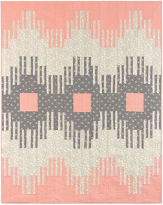 Faded Stripes designed by Angela Walters. Features #FragmentalFabric by Angela Walters, shipping to stores November 2015.
