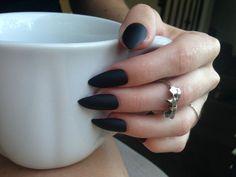 #Almonds #Black #brightness #Nails #Summer #2016 #Casual   #TerapiaNails ✝