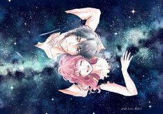 Hak & Yona by Kaori Akatsuki no yona's fanart