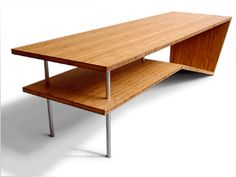 Very cool coffee table by modern slant