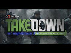 Takedown Red Sabre # 1 W NightBlaze