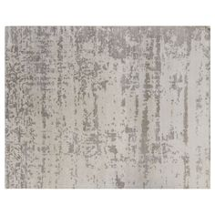 Kravet Carpet's Vesper hand knotted rug made of 100% viscose in Vanilla, an abstraction of the deep dark night that shows without darkness there can be no light. Modern Kinetic Collection. Measures, 10' x 14'. Made in India.