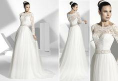 2013 wedding dress by Franc Sarabia