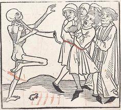 Heidelberger Totentanz Heidelberg: Heinrich Knoblochtzer, nicht nach 1488 GW M47257  Folio 21r
