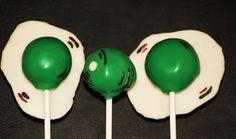 Green Eggs and Ham Cake pops https://www.etsy.com/listing/166948627/18-green-eggs-and-ham-cake-pops