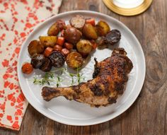 A Calculated Whisk: Roasted Jerk Chicken with Carrots and Potatoes