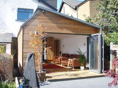 Mr Newton, Garden Room Extension.