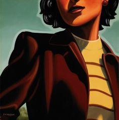 Clarissa's Hair by Kenton Nelson