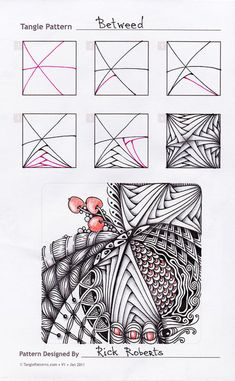 step out for Yankee Zentangle pattern by Kelley Kelly, Certified . Doodles Zentangles, Tangle Doodle, Tangle Art, Zentangle Drawings, Doodle Drawings, Doodle Art, Zen Doodle, Doodle Patterns, Line Patterns