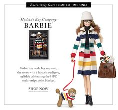 HUDSON'S BAY BARBIE* - Shop Now