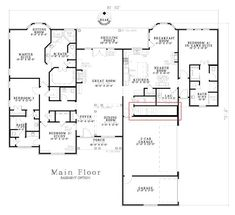 House Plans On Pinterest Ranch House Plans House Plans And Floor