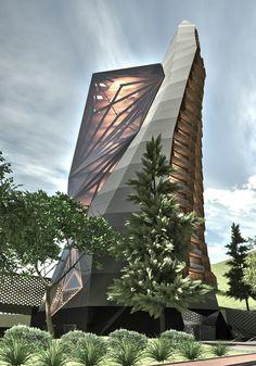 Ateliê de Projeto V Torre Bioclimática Orientador Luis Felipe Spagemberg