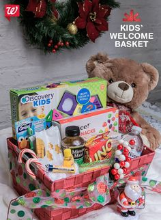 """Delight young guests this holiday with a kids' welcome basket! Get inspiration on our """"Smile"""" blog!"""