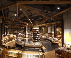 Bookstore dreams. Yan Ji You Bookstore by Kyle Chan & Associates, Chengdu - China Source: retaildesignblog.net