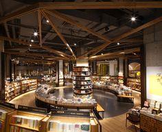 Yan Ji You Bookstore by Kyle Chan & Associates, Chengdu - China