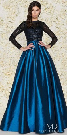 Mac Duggal Long Sleeve Sequin Lace Pleated Ball Gown. Ball gown fashions. I'm an affiliate marketer. When you click on a link or buy from the retailer, I earn a commission.