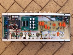 Just finished building a Dumble Overdrive Special guitar amp for a customer. Check out my work!