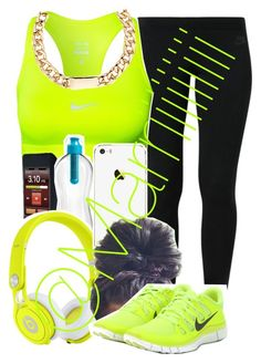 """""""Need to lose some weight"""" by marriiiiiiiii ❤ liked on Polyvore featuring NIKE, Beats by Dr. Dre, Red Herring, women's clothing, women's fashion, women, female, woman, misses and juniors"""