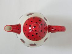 Teaset for One with Ladybirds in Red and Black by BonCreationz, €36.50
