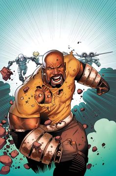 Superhero Week: Who is the most famous black superhero? Luke Cage?