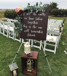 Of All The Walks We Have Taken Together Sign, Wedding Ceremony Sign, Aisle Decor, Wooden Wedding Sig decoration aisle Your place to buy and sell all things handmade Wedding Ceremony Signs, Wooden Wedding Signs, Wedding Ceremony Decorations, Wedding Venues, Wedding Locations, Wedding Themes, Aisle Decorations, Wedding Reception, Rustic Wedding