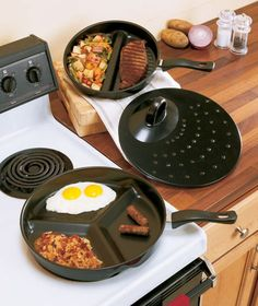 3-Pc. Divided Pan Set