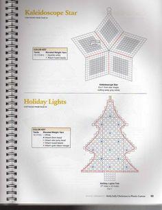 PLASTICS CANVAS NAVIDAD - sonia escaurido - Picasa Web Albums pattern for holiday lights