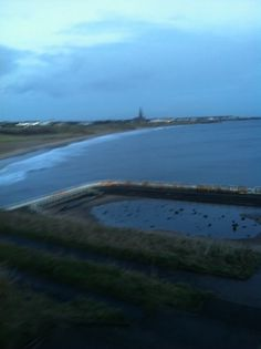 Tynemouth long sands beach 7.56am 7 th January 2014