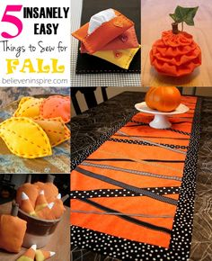 Things to sew for fall on believeninspire.com #fallideas #fallsewing