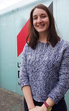 Après un BTS Design de produits à l'école, Maud Colas passe un an à Edimbourg au sein de la Napier University, partenaire de L'École de design.