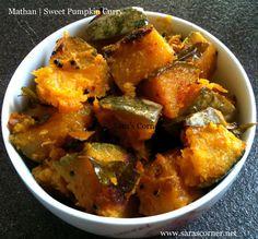 Sara's Corner A Traditional vegetarian Indian and International homemade recipe Pumpkin Curry, Best Pumpkin, Homemade Recipe, Curry Recipes, Pumpkin Recipes, Eating Well, Side Dishes, Corner, Vegetarian
