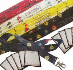 Angry Birds Party Favors - 12 pc ID Lanyard Mobile Neck Strap Pack w Name Cards by Hobby Land. Save 34 Off!. $21.00. Must have for Angry Bird Parties. Fun & Unique Party Favors. 12 Party Favors - Lanyard Neck Straps. Mix of colors representing your Favorite Angry Birds. Each lanyard has a name card attached. This 12 piece Favor Pack is perfect for your Angry Birds theme party. Each lanyard has a Name Card attached for each guest. Fun and unique Favors and Name Tags. Angry Birds ...