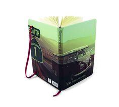 VW Bus Notebook-Highway 1  #VW #bus #Volkswagen #coolvwstuff
