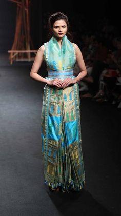 Mekhela Chador by Sanjukta Dutta - Lakme Fashion Week - SR 17 - 3