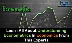 Econometrics is a method in economics which takes concepts from mathematics, statistics and economics for studying various economic phenomena.