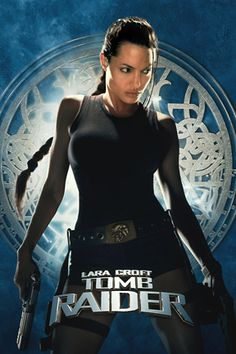 What could be better than the video game turned real and Angelina Jolie everyone wanted to have...  We all thought Harrison Ford made tomb raiding hot, Angelina made it sexy.